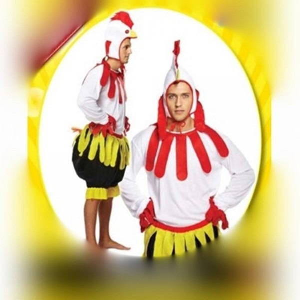 Chicken Little Adult Costume For Sale
