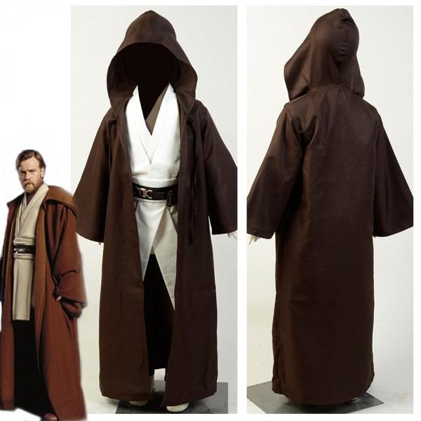 Online Shop Child Star Wars Jedi Costume Obi Wan Kenobi Cosplay