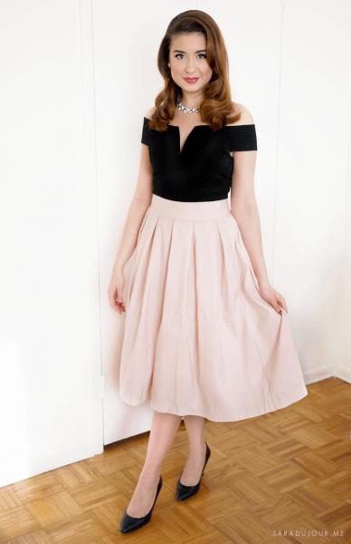 Retro 1950s Christmas Party Outfit • Sara Du Jour