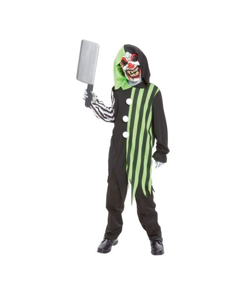 Cleaver The Clown Boys Costume