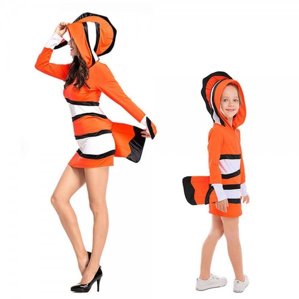 Detail Feedback Questions About Clownfish Costume Kids Adult Nemo