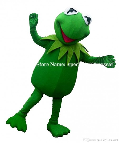 Cool Frog Mascot Costume Adult Size Carnival High Quality Toad