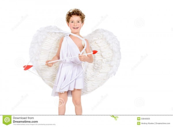 Crafty Cupid Stock Image  Image Of Adorable, Happiness