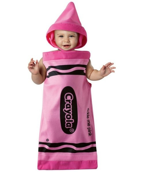 Crayola Tickle Me Pink Bunting Baby Costume
