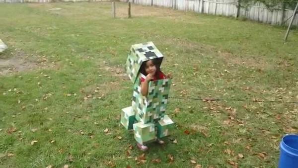 57 Minecraft Creeper Costume For Kids, Best 25 Minecraft Costumes