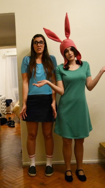 Best Friend And I Went As Tina And Louise In A Country Where Bobs
