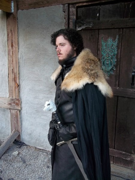 Custom Made Game Of Thrones Cosplay Jon Snow Cosplay Costume On