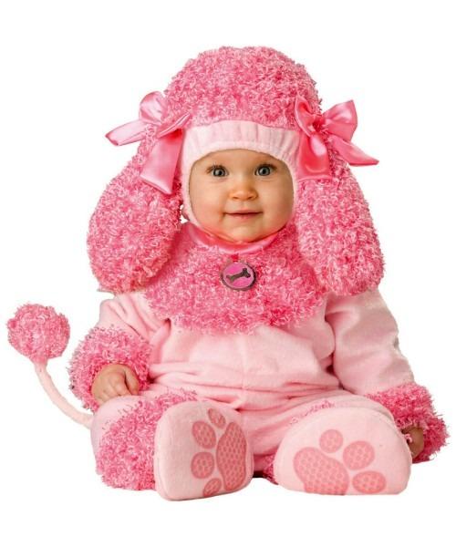 Precious Poodle Baby 50s Halloween Costume