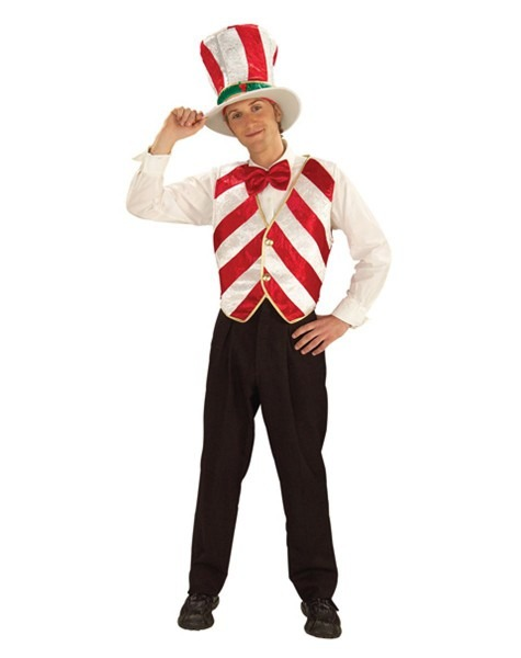 Mr  Peppermint Adult Men's Costume
