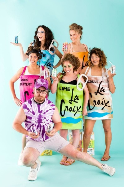 Make Sure Your Group Is Slaying With This Diy La Croix Halloween