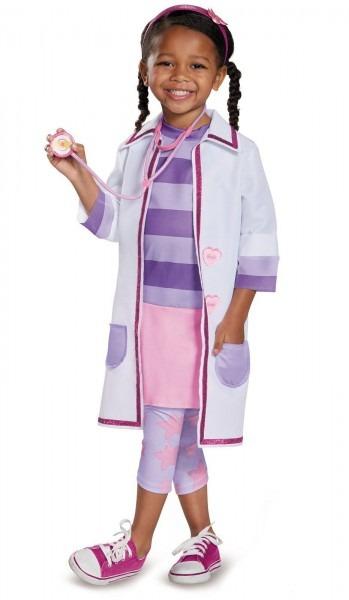 Doc Mcstuffins Pet Vet Deluxe Child Costume