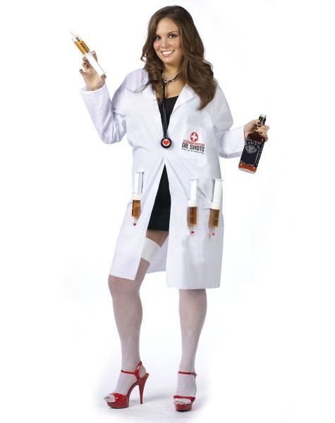 Dr  Shots Adult Womens Plus Size Costume – Spirit Halloween