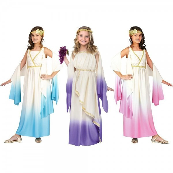 Greek Goddess Costume Kids Halloween Fancy Dress In 2019