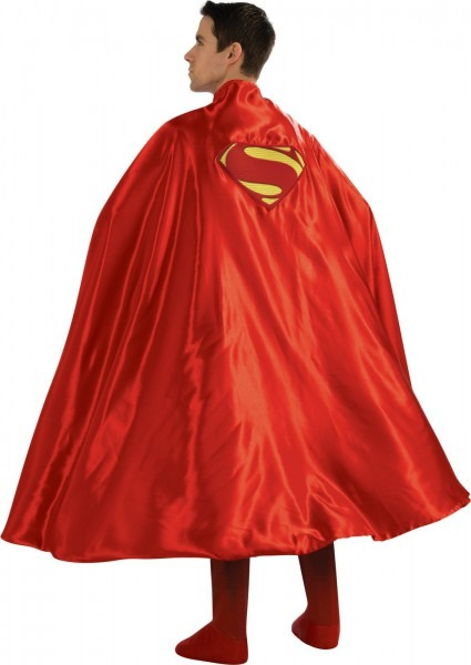 Deluxe Superman Cape For Adults, Deluxe Superman Adults