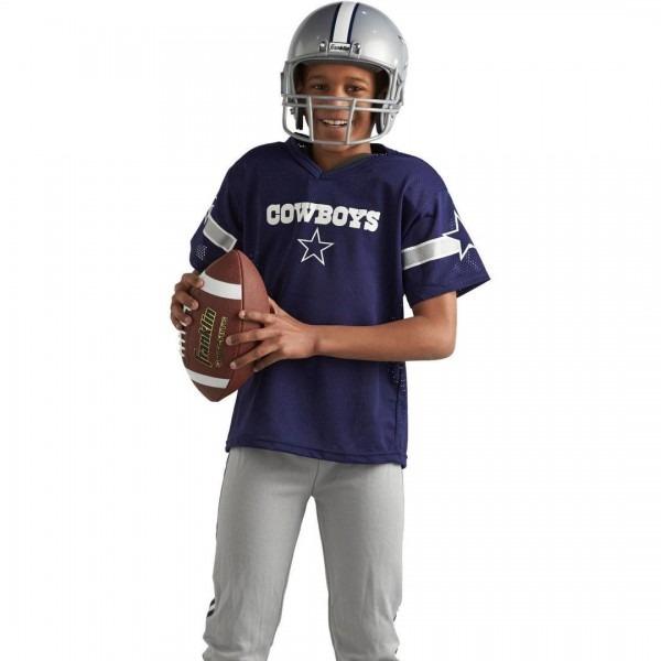 Dallas Cowboys Uniform Set Youth Nfl Football Jersey Helmet Kids