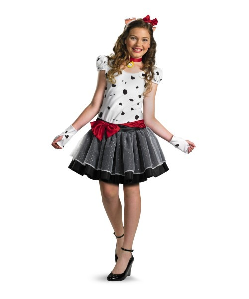 101 Dalmatians Teen Girl Costume
