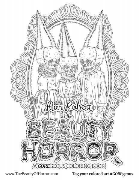 Horror Coloring Pages