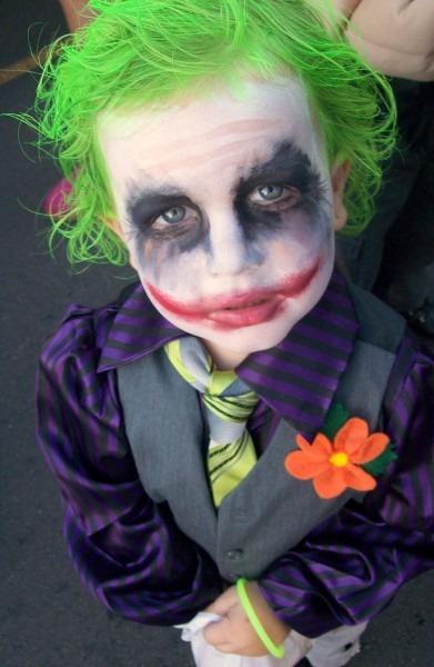 A Baby Joker Cosplay
