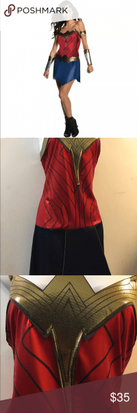 Wonder Woman Adult Dc Costume Size Large 14