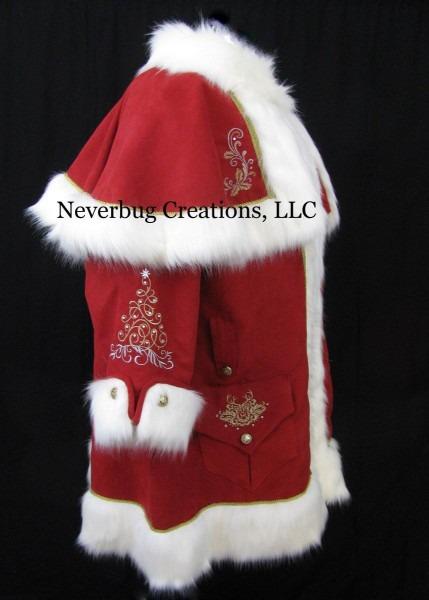Custom Victorian Santa Costume ( Each Is One Of A Kind)