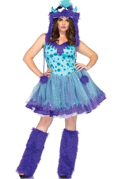 Plus Size Halloween Costume Furry Monster