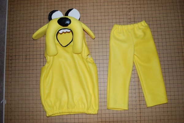 Adventure Time's Jake Costume Tutorial From A Patchwork World