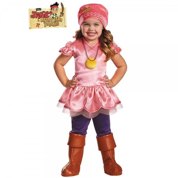 Disguise Izzy Deluxe Jake And The Neverland Pirate Costume