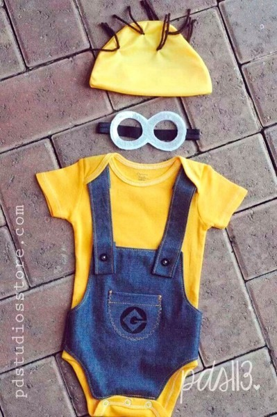 Diy Baby Minion Costume