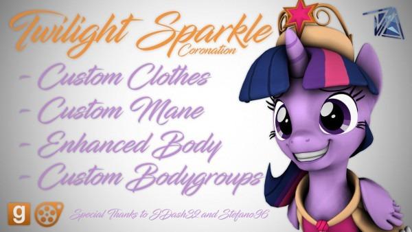 Dl] Twilight Sparkle's Coronation By Dazzion On Deviantart