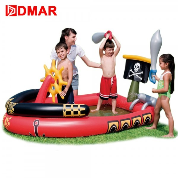 Dmar Inflatable Pool For Kids Pirates Of The Caribbean Black Pearl