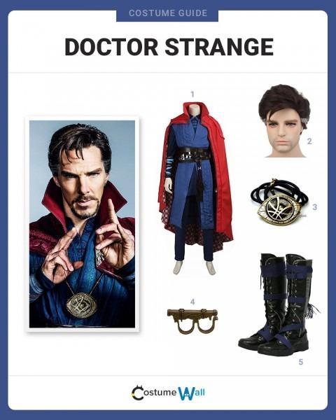 Dress Like Doctor Strange Costume