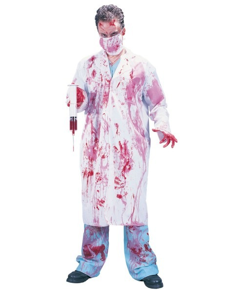 Adult Dr  Killjoy Scary Halloween Costume