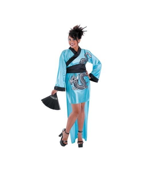 Geisha Dragon Adult Plus Size Costume
