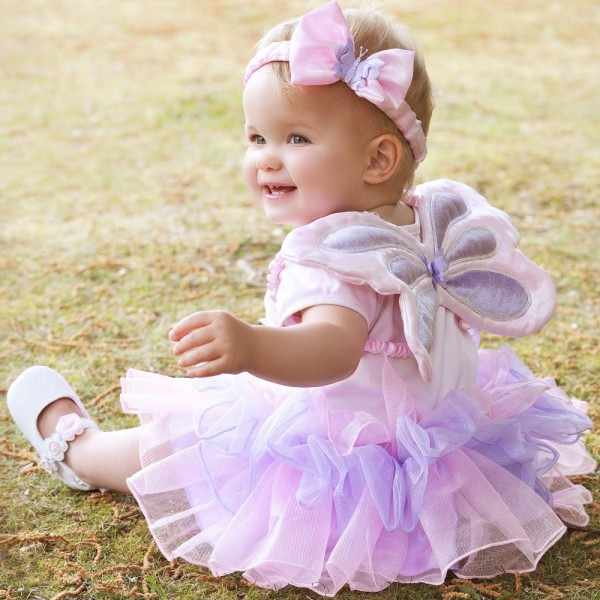 16 Baby Fairy Costume 3 6 Months, Lite Up Pumpkin Princess Toddler
