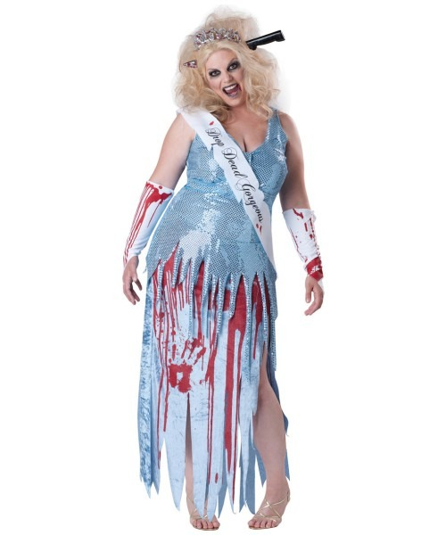Zombie Plus Size Scary Halloween Adult Costume