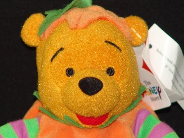 New Disney Store Halloween Pumpkin Jack O Lantern Winnie The Pooh