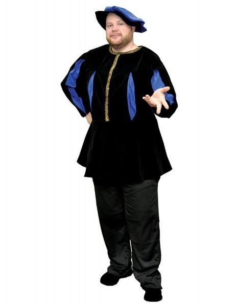 Men's Renaissance Royal And Noblemen Costumes