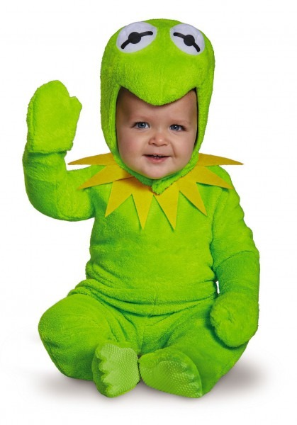 Kermit The Frog Baby Muppet Costume