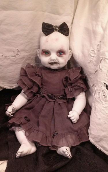 Babe Creepy Ooak Horror Baby Doll