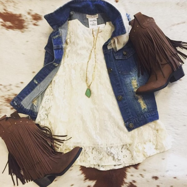 Little Girl Western Outfit
