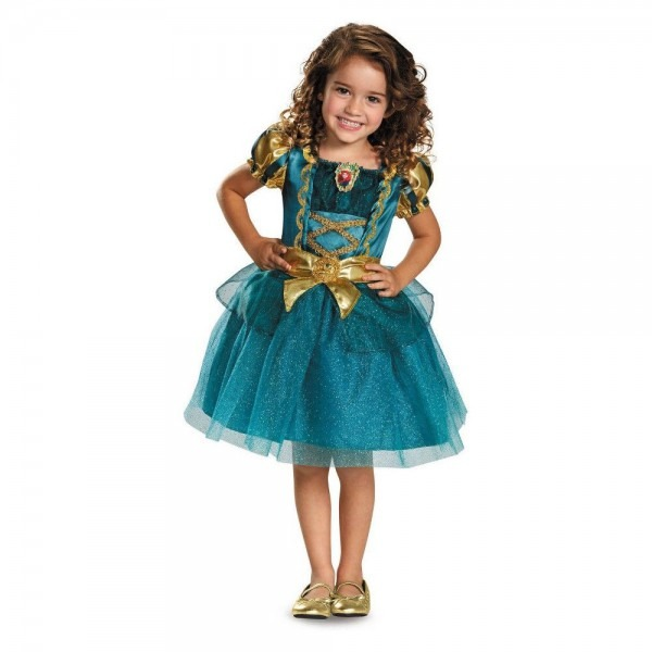 Toddler Girls' Disney Princess Merida Halloween Costume 4t, Blue