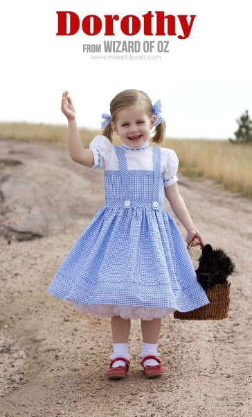 Halloween 2014  Dorothy (from  Wizard Of Oz