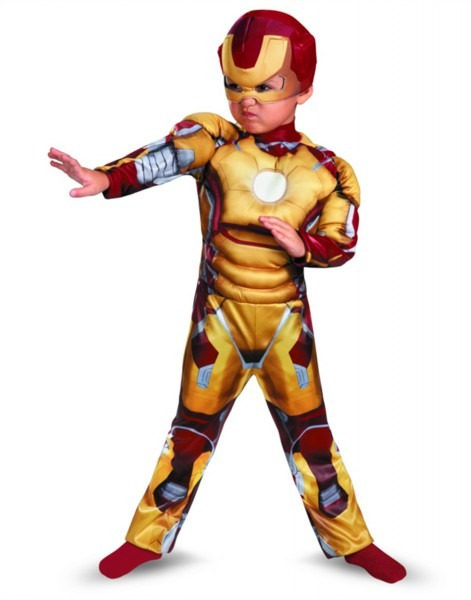 Iron Man Mark 42 Toddler Muscle Halloween Costume