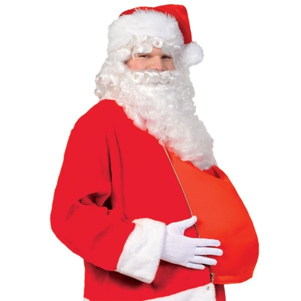 Santa Claus Father Christmas Fancy Dress Costume Accessory Filled