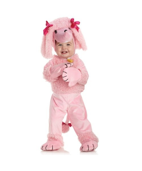 Pink Poodle Baby 50s Costume Halloween Costumes Girl For