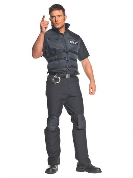 Swat Team Costume Men
