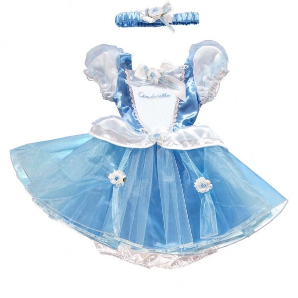 Cinderella Costume For Baby & Disney Deluxe Cinderella Costume