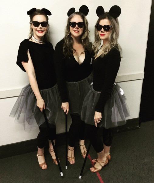 Three Blind Mice Halloween Costume!