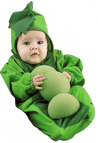Baby Halloween Costumes  Pea In A Pod Bunting Infant Costume