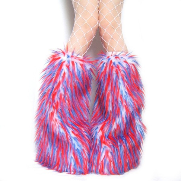 Rave Fluffies Furry Leg Warmers